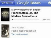 Google Books iPhoneAndroid