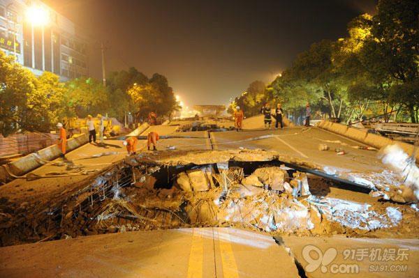 株洲/震撼实拍:难道是桥就会塌?要把大桥当百年基业来建啊!