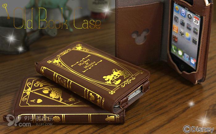 复古欧美书籍风iphone保护皮套