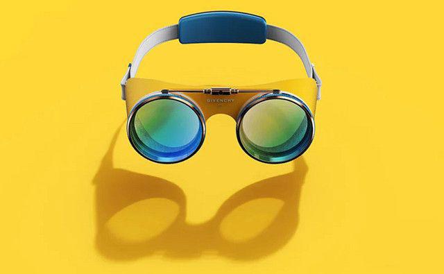 纪梵希VR/AR眼镜概念图