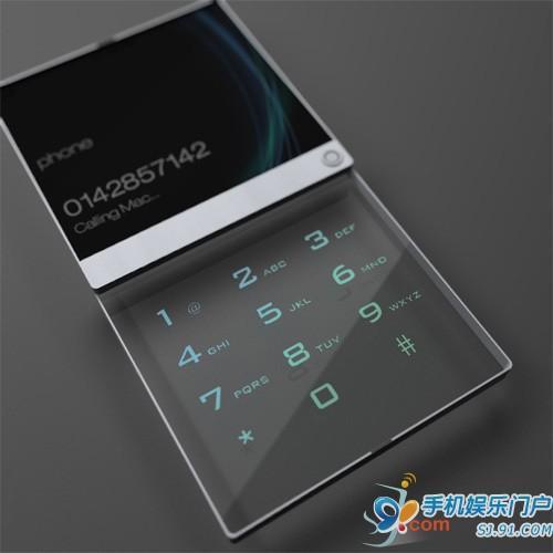 转犹如玻璃相框的透明概念手机 简洁至极! - f1.4 - F1.4