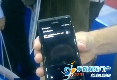 诺基亚爆MeeGo手机N9将具有一种开发者模式