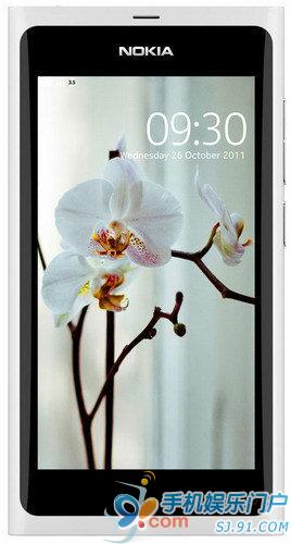 白色N9亮相诺基亚大会 机身多图赏析