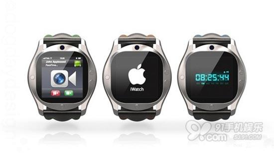 苹果iwatch概念设计图欣赏